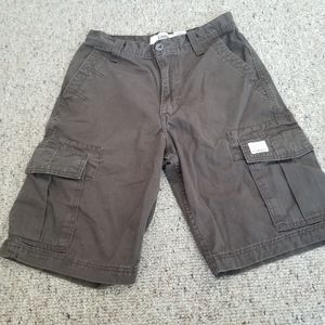 Mens Levi Brown  Cargo Shorts Size 29
